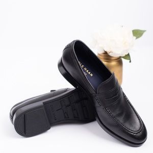 Cole Haan Black Penny Loafers size 8.5